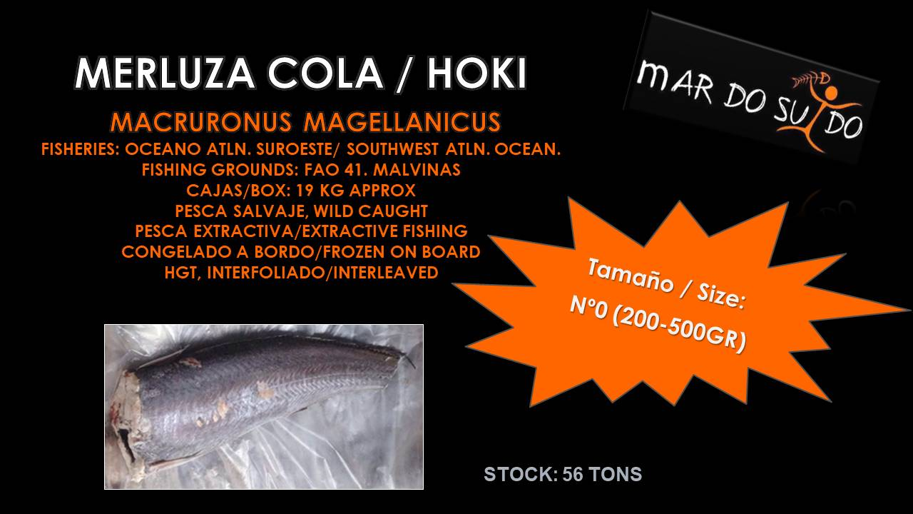 Oferta Destacada Merluza Cola - Hoki Special Offer