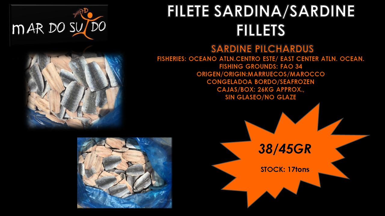 Oferta Destacada de Filete de Sardina