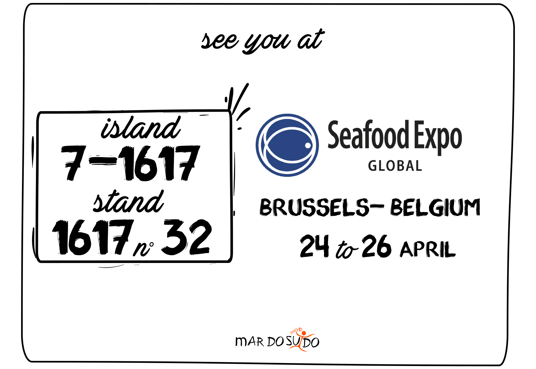 SEE YOU AT SEAFOOD BRUSSELS 2018!