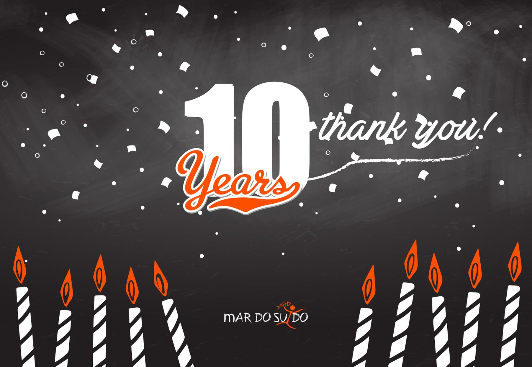 ¡Cumplimos 10 años!