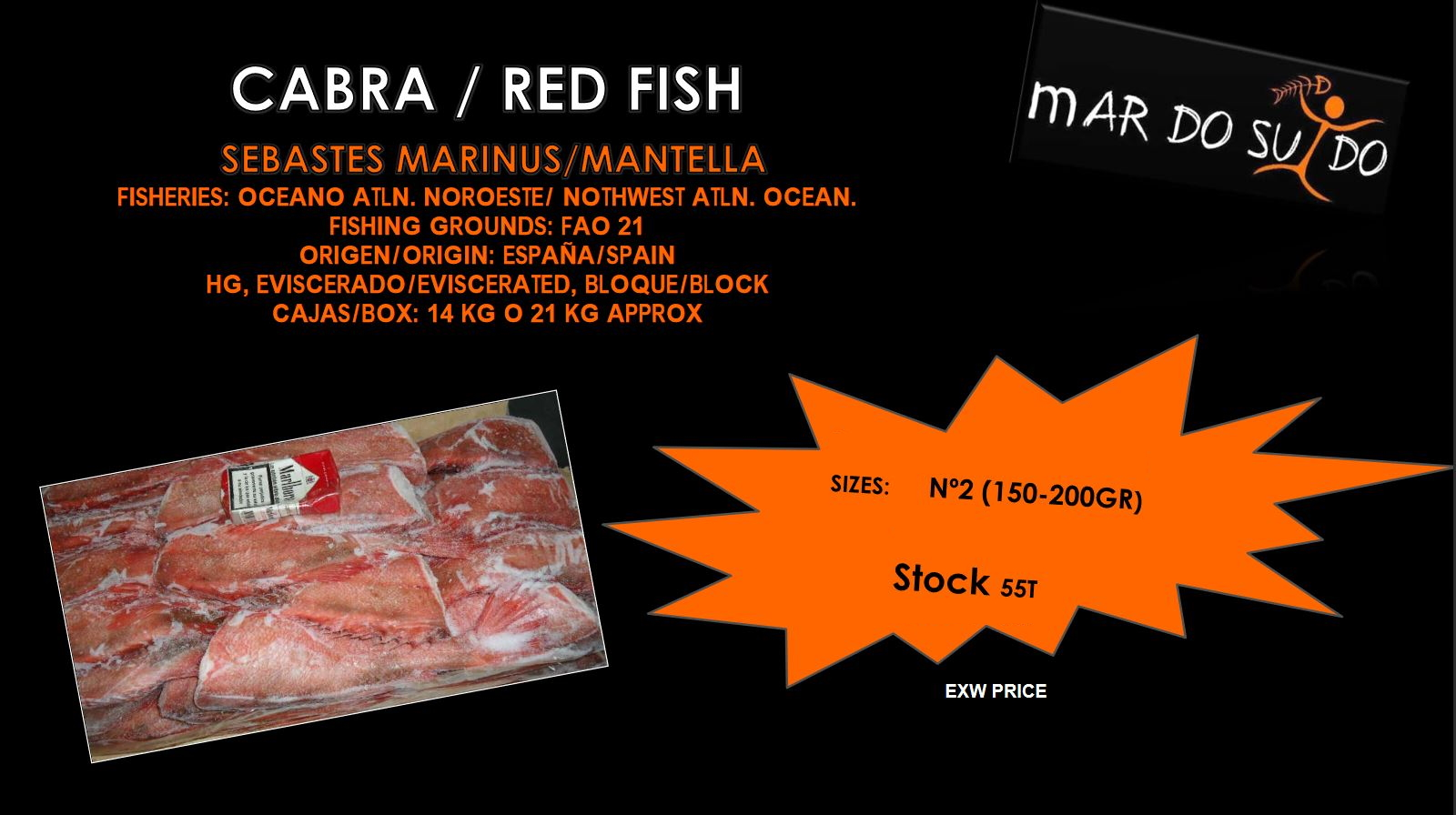 Oferta Destacada de Cabra - Red Fish Special Offer