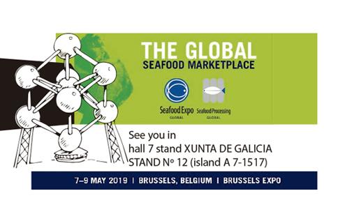 Ven a visitarnos en Seafood Bruselas 2019!!!