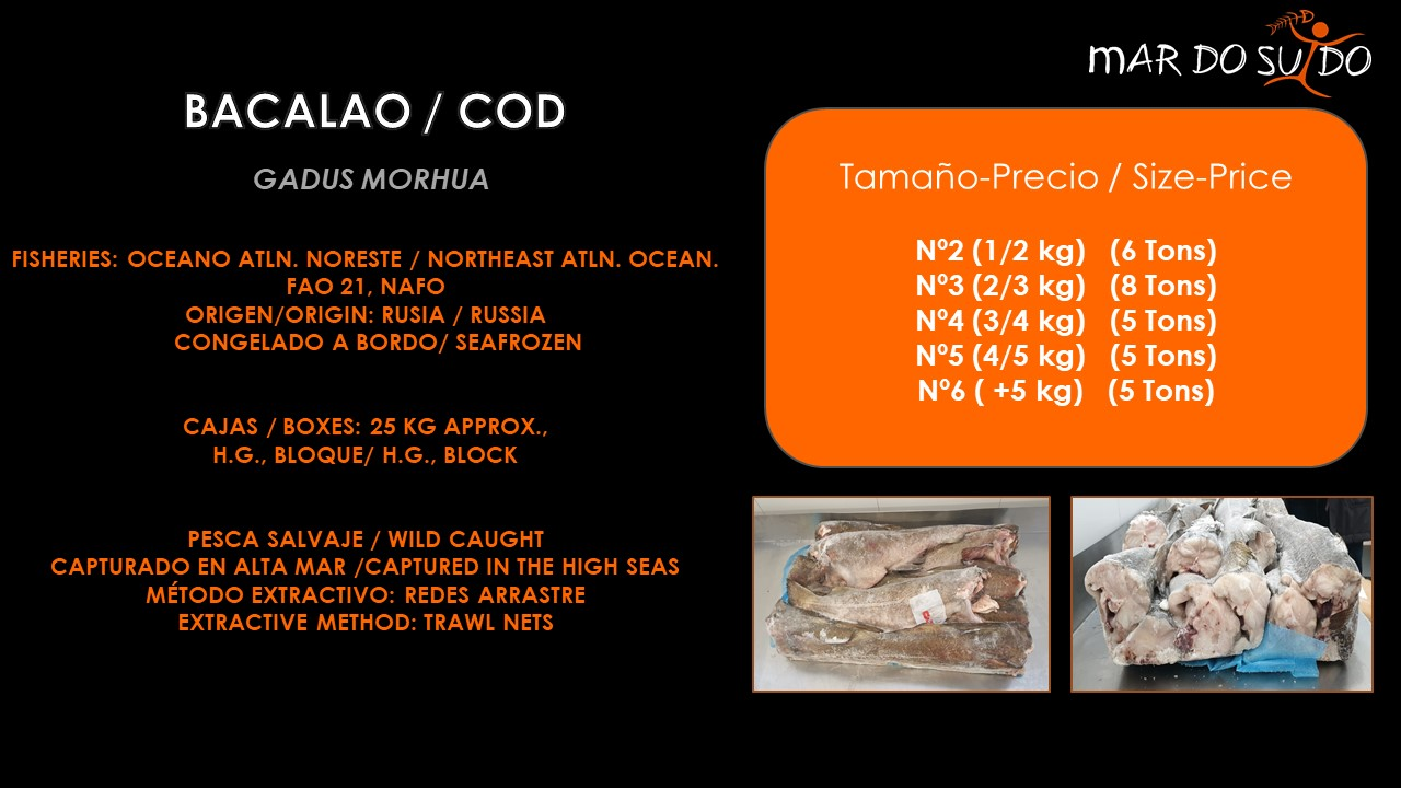 Oferta Destacada de Bacalao - COD Special Offer